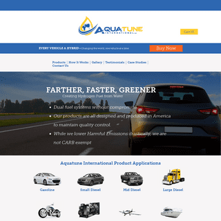 Aquatune - Hydrogen Fuel Systems for your Vehicle