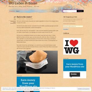 WG Leben in Berlin - Alles über WGs, Alltag, Spaß, Probleme… WG halt