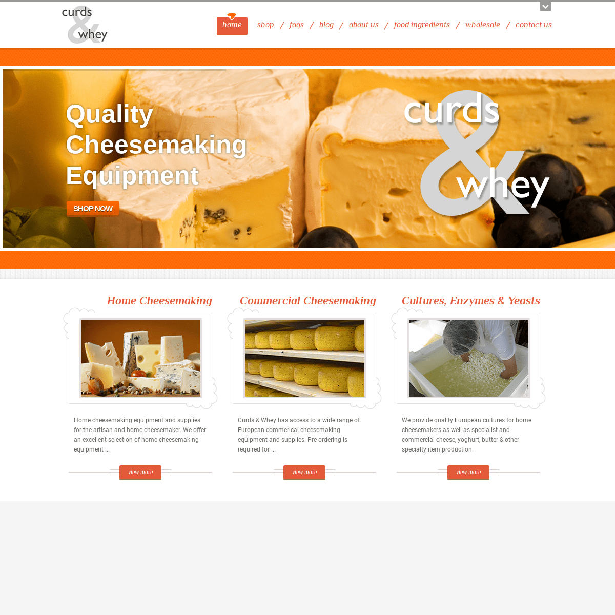 ArchiveBay.com - curdsandwhey.co.nz - Curds & Whey cheese making equipment & supplies in NZ Supplier