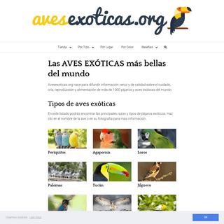 Las 1000 AVES EXÓTICAS más bellas del mundo - ¡Fotos y curiosidades!