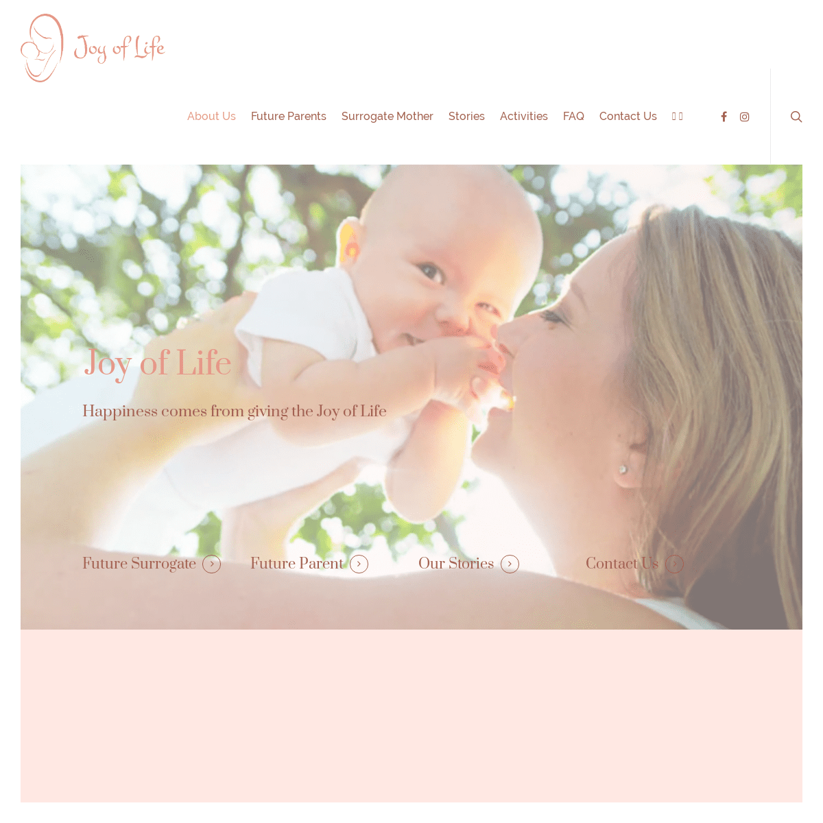 Become Surrogate - Surrogate Mother Wanted - Joy of Life Surrogacy