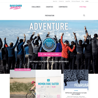 ArchiveBay.com - discoveradventure.com - Charity Challenges - Cycle Rides, Treks & Climbs - Discover Adventure