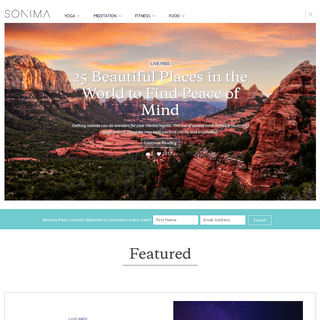 ArchiveBay.com - sonima.com - Sonima - Meditation, Free Yoga, Home Workouts & More
