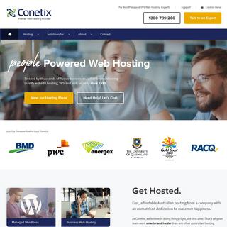 ArchiveBay.com - conetix.com.au - Australian Premier Website Hosting - Wordpress, VPS & More • Conetix