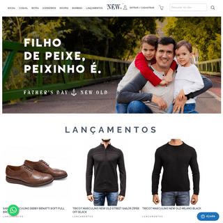 Calçados masculinos e botas masculinas - New Old