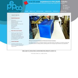 Pepco Plastics LTD. - Custom Plastic Fabrication Edmonton - WELCOME TO PEPCO PLASTICS LTD.