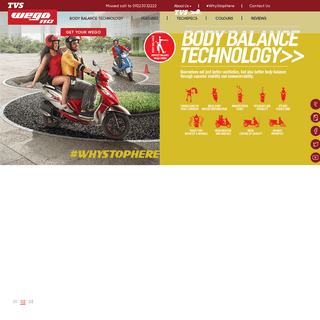 ArchiveBay.com - tvswego.com - TVS Wego - Best In Class Features with Perfect Body Balance Technology