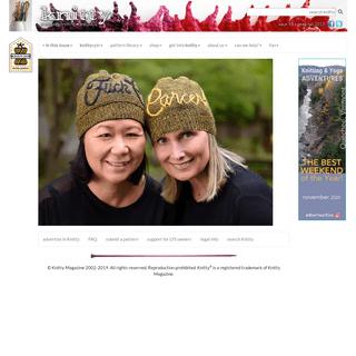 Knitty Index - Knitty.com - Deep Fall 2019