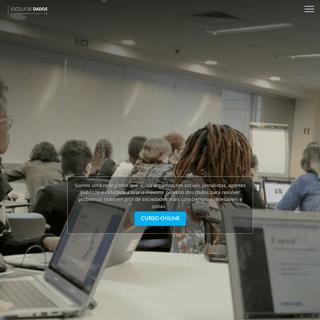 Escola de Dados – Evidência é poder