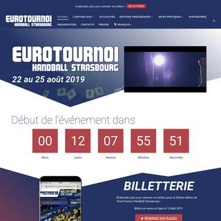 EuroTournoi Handball Strasbourg – Le top du handball en Europe !