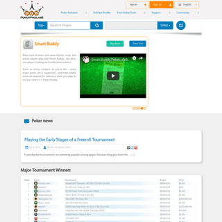 Poker Pro Labs - Home Page