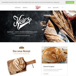 ArchiveBay.com - ketex.de - Ketex - Der Hobbybrotbäcker - Über 300 handverlesende Brotrezepte