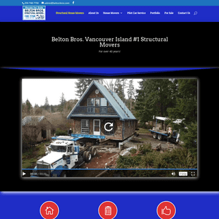 Belton Bros. - Structural House Movers