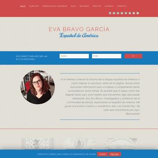 Eva Bravo García - Español de América e historia de la lengua española