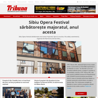 Tribuna -- Vineri, 09 august 2019