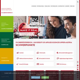 FH OÖ - Fachhochschule Oberösterreich