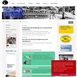 Flüchtlingsrat Schleswig-Holstein- Home