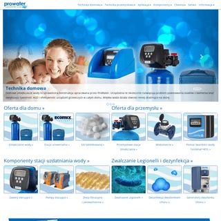 ArchiveBay.com - prowater.com.pl - ProWater –Profesjonalne systemy uzdatniania wody - ProWater - Uzdatnianie Wody dla domu i przemysłu