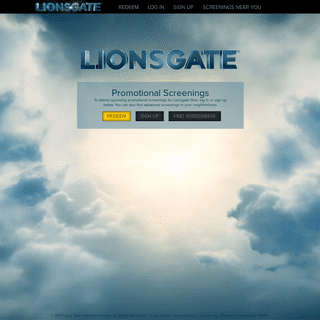 ArchiveBay.com - lionsgatescreenings.com - Lionsgate Screenings Home