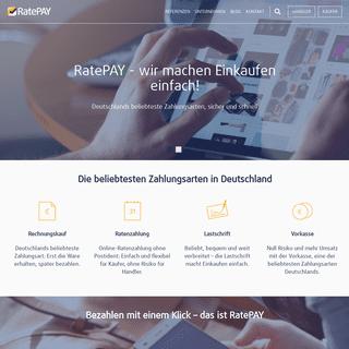 RatePAY - Payment-Lösungen im Onlinehandel ohne Risiko