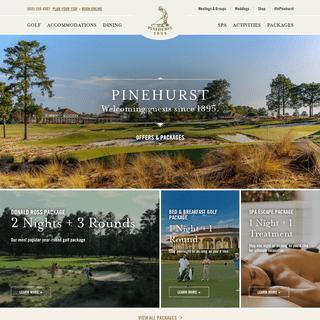Pinehurst Resort - Golf, Spa & Dining
