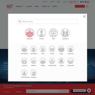 ArchiveBay.com - actcorp.in - Best Broadband and Wired Internet Service Provider in India - ACT Fibernet