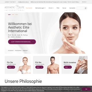 Plastische Ästhetische Chirurgie in Düsseldorf - Aesthetic Elite International