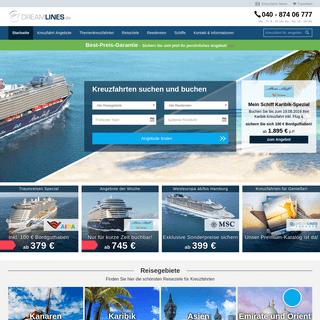 Dreamlines- Kreuzfahrten & Schiffsreisen buchen beim Experten