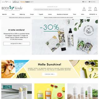 Il Tuo Shop di Cosmesi Ecobio - Ecco Verde Shop Online