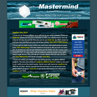 Mastermind Communications - Marketing - Advertising - Make Money - Internet - Business
