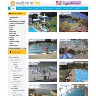ArchiveBay.com - webcamlive.cz - Online archív webových kamer, záznamy teploty vzduchu, vlhkosti a směru větru - WebCamLive