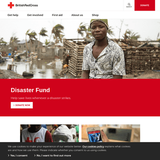The British Red Cross - Worldwide Humanitarian Charity