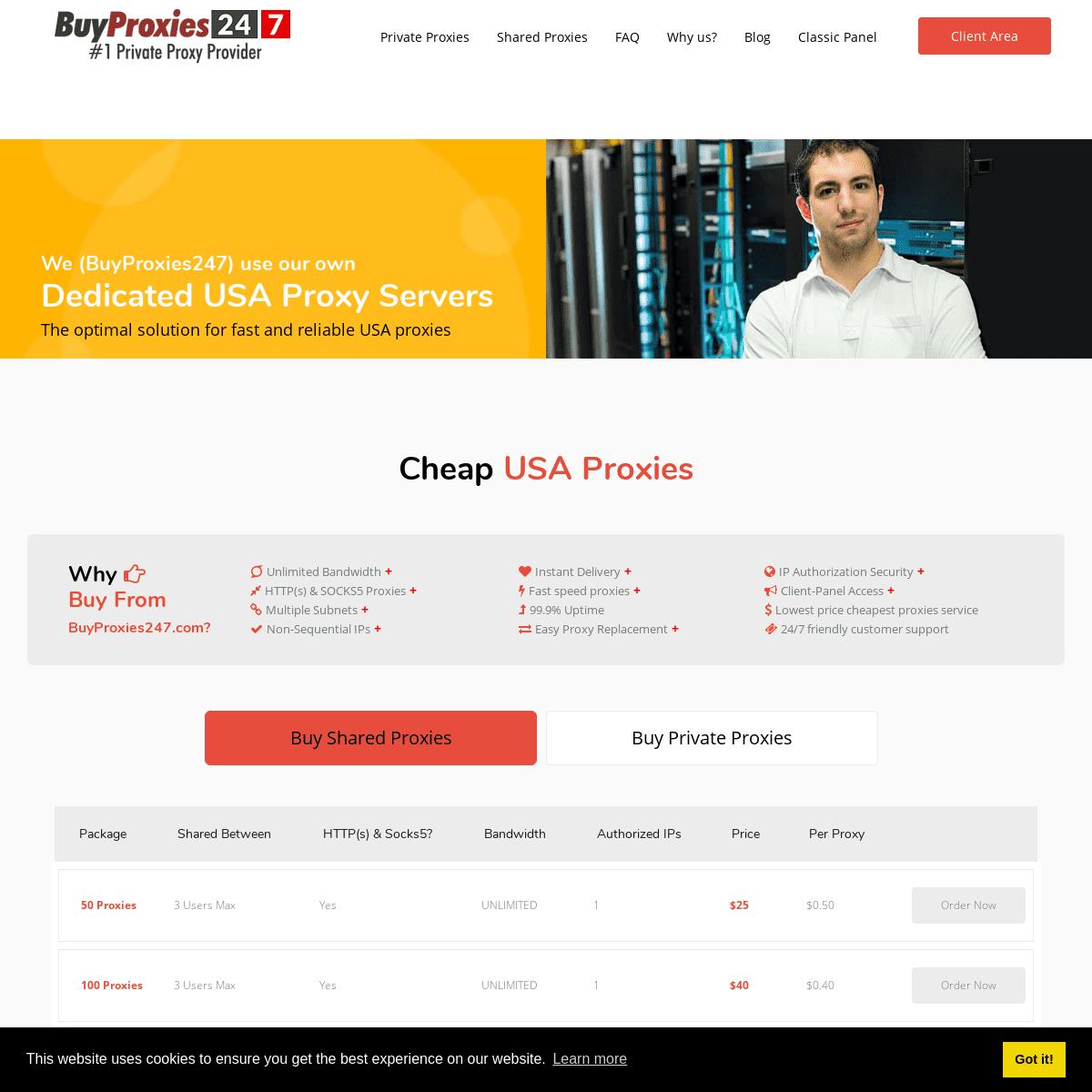 Buy US Proxies - Buy Socks5 Proxy - Premium Proxies Service - BP247