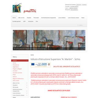 Istituto d'Istruzione Superiore -A. Martini- di Schio