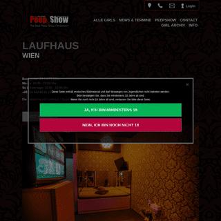 Laufhaus Wien, Peepshow Burggasse 112