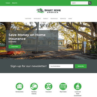 ArchiveBay.com - smarthomeamerica.org - Save money on home insurance. Build better with FORTIFIED Home. Get ready for hurricane season.