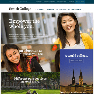 ArchiveBay.com - smith.edu - Smith College - Individual. Global. Exceptional.