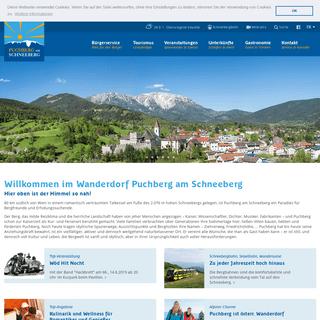 Gemeinde Puchberg am Schneeberg - Gemeinde Puchberg am Schneeberg