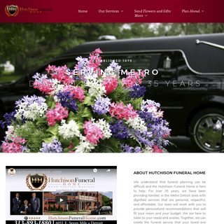 Home Page - Hutchison Funeral Home - Detroit Michigan