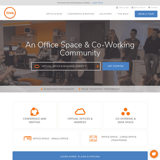 oHive - Office Space, Co-Working, Virtual Office & Conference - Portsmouth NH