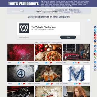 Tom's Wallpapers- free background pictures, widescreen images, hd desktop wallpapers