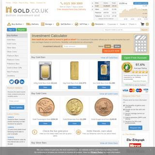 ArchiveBay.com - gold.co.uk - Buy Gold Bullion & Coins – Free Insured Delivery - GOLD.co.uk ®
