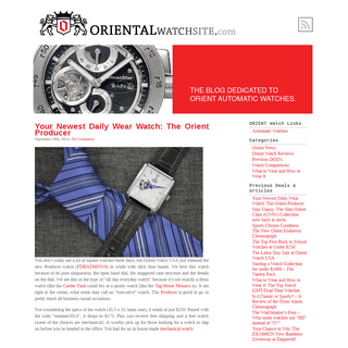 Affordable Men's Automatic Watches by ORIENT Japan
