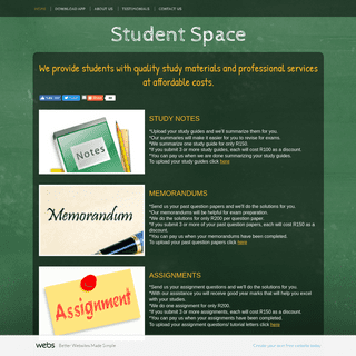 Student Space