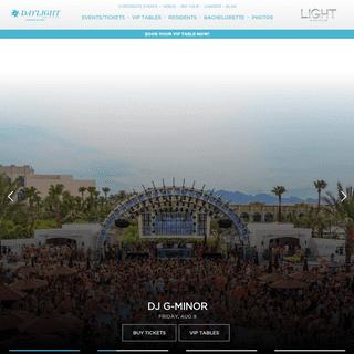 Las Vegas Dayclub - DAYLIGHT Beach Club - Mandalay Bay Pool
