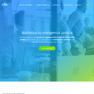 vLex - Información jurídica inteligente