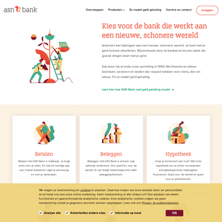 ASN Bank - Kies voor de bank die werkt aan een nieuwe, schonere wereld