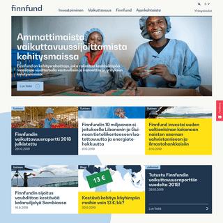 Etusivu - Finnfund