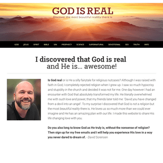 ArchiveBay.com - godisreal.today - GOD IS REAL - Discover God's love for you today!