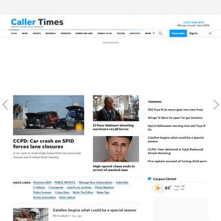Caller-Times- Corpus Christi News, Sports and Entertainment